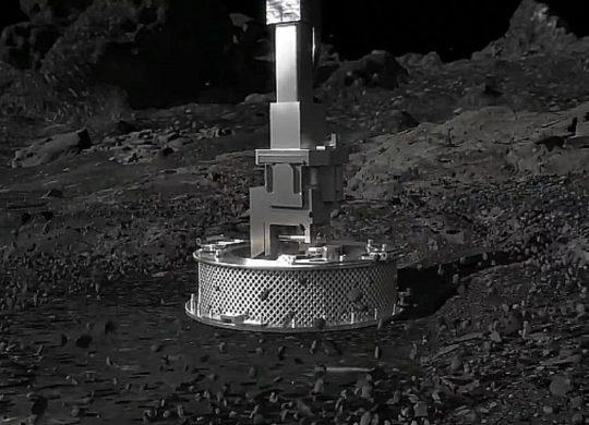 Osiris Rex sur l'astéroïde Bennu