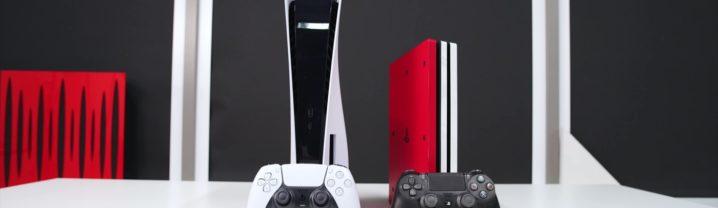 PS5 et Manette DualSense vs PS4 et Manette