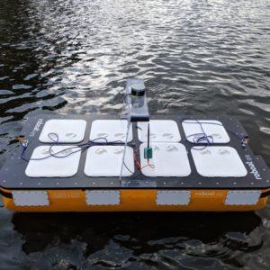 Image article Roboat : le MIT met au point un bateau-robot capable de transporter deux personnes