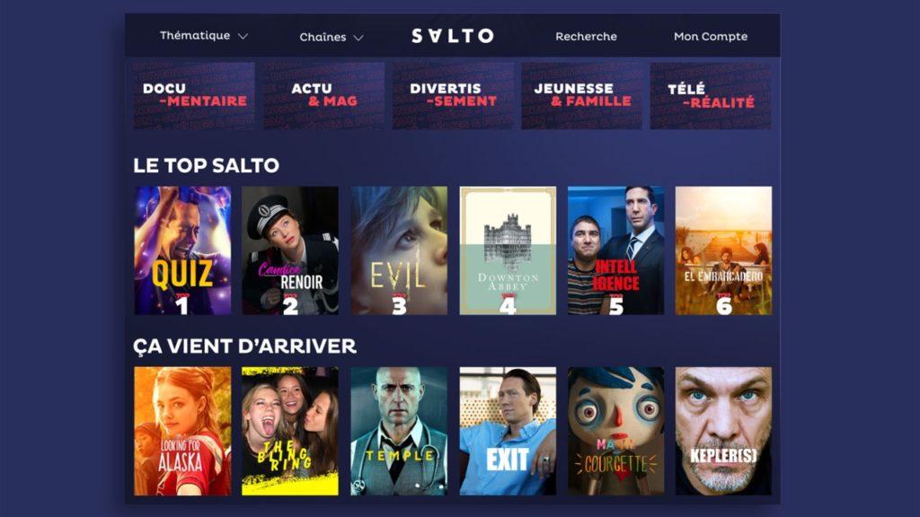 Streaming : Salto a réalisé 20% des nouveaux abonnements à la fin 2020