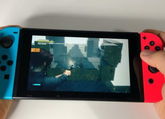 Switch Jeu Control Cloud Gaming
