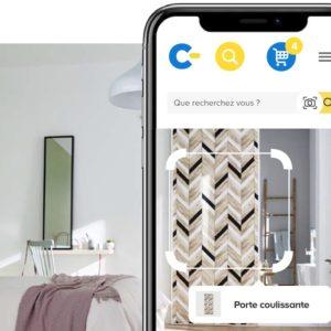 Image article Castorama lance un moteur de recherche visuelle