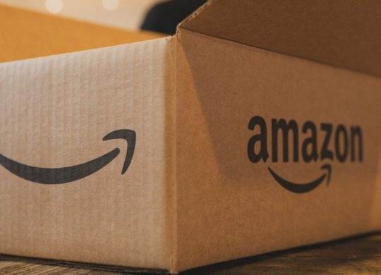 Amazon Logo Carton