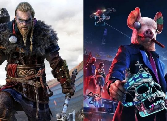 Assassin Creed Valhalla et Watch Dogs Legion