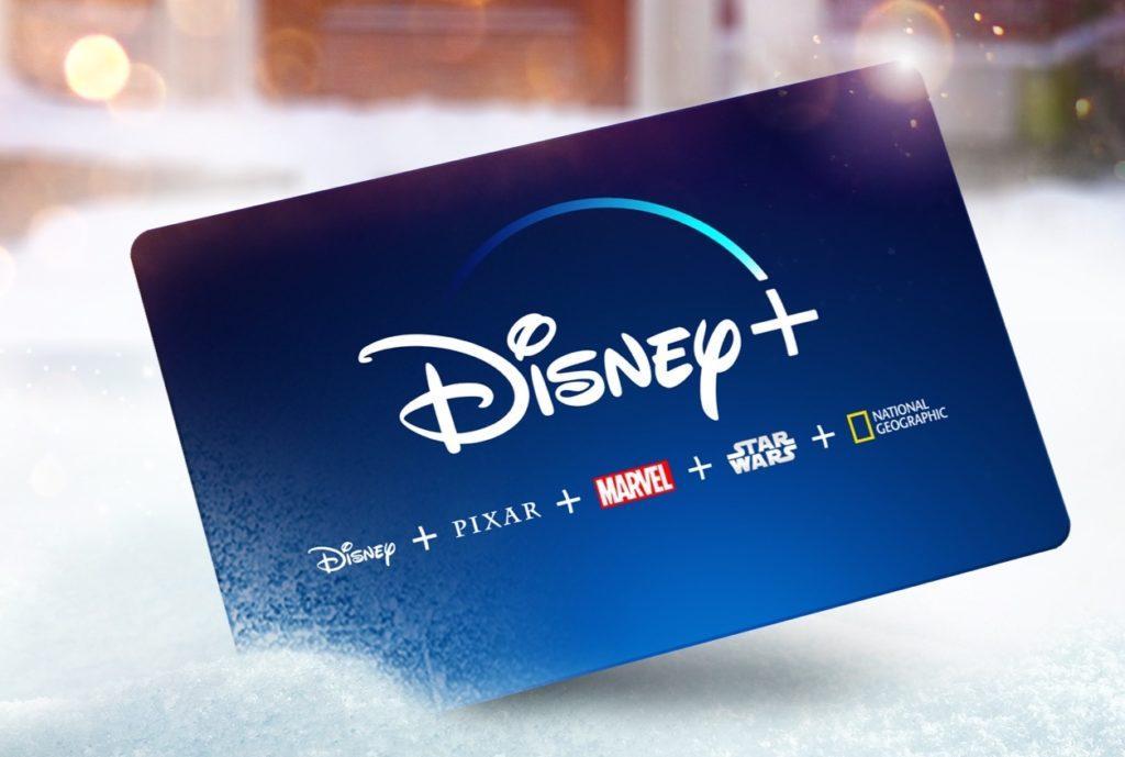 Carte Cadeau Disney+