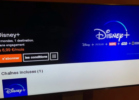 Disney Plus Orange Livebox
