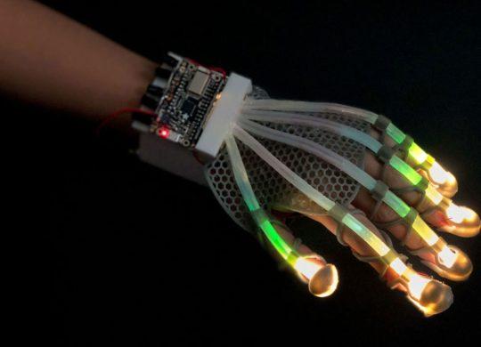 Gant haptique VR AR