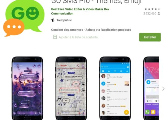 Go SMS Pro Application Android
