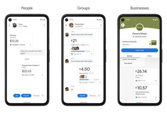 Google Pay banque 1