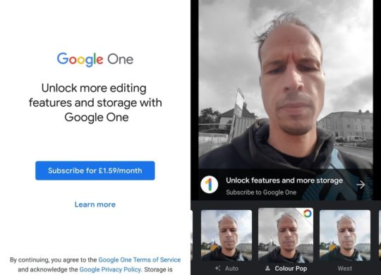 Google Photos Fonctions Payantes Google One
