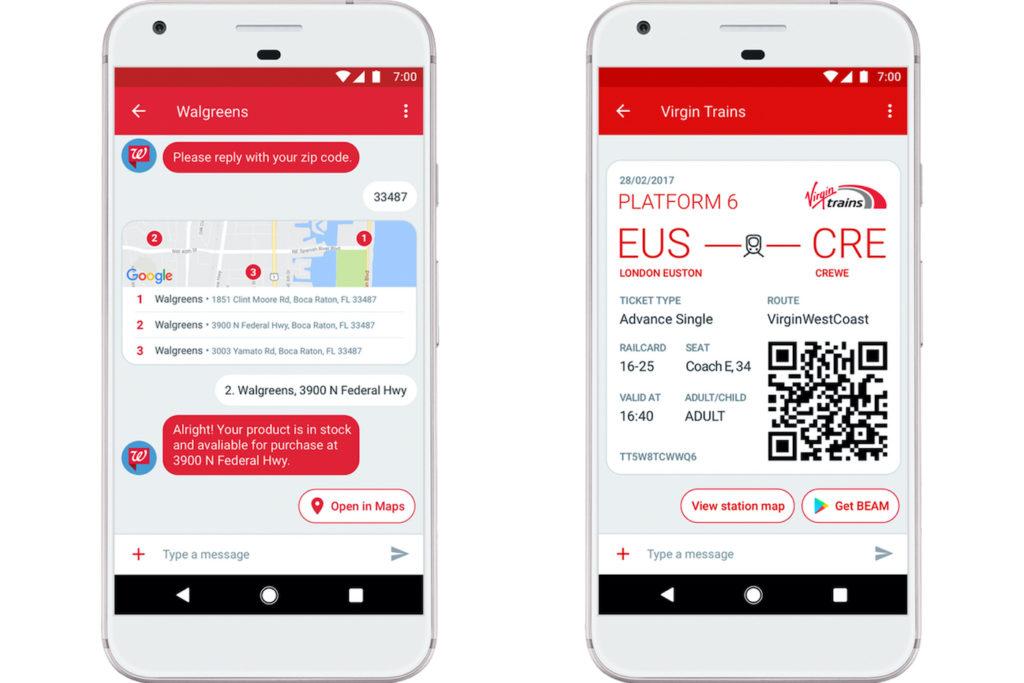 Google RCS Android