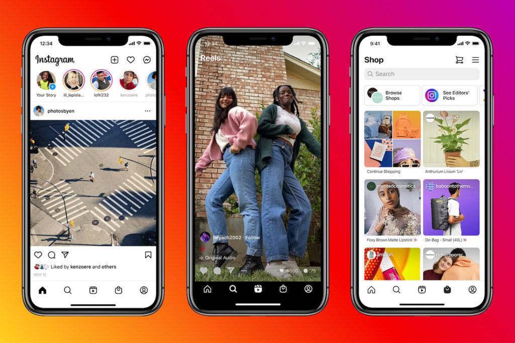 Instagram refuse de mettre en avant des Reels venant de TikTok