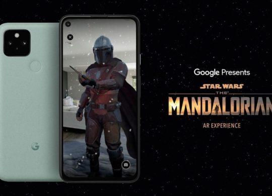 Mandalorian AR Google Pixel