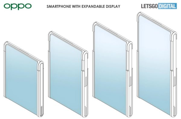 Oppo smartphone enroulable concept