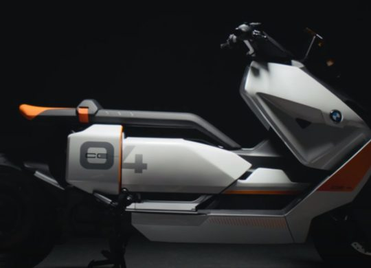 Scooter electrique CE 04 BMW