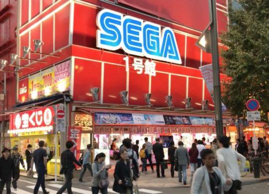 Sega salle d'arcade Tokyo