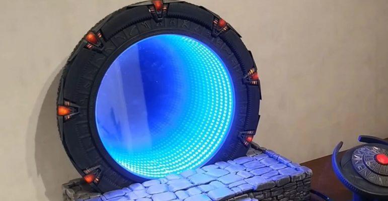 Stargate porte des étoiles DiY