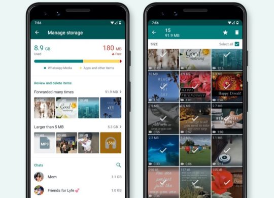 WhatsApp Outil Gestion Stockage