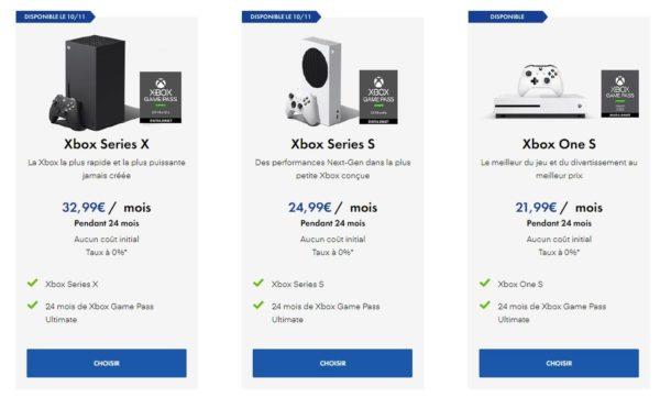 Xbox all Acess Micromania