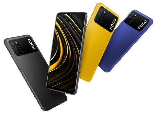 Xiaomi Poco M3 Avant Arriere Coloris