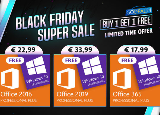promo black friday windows