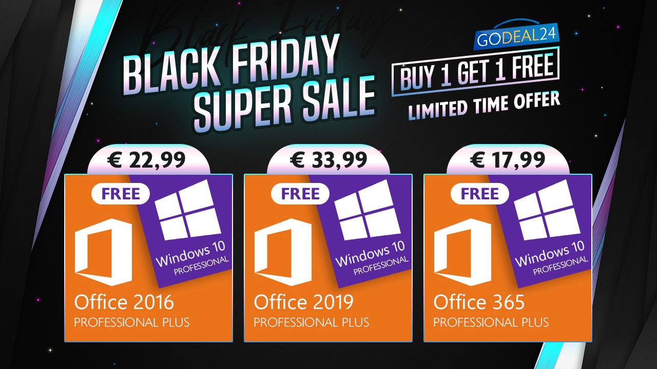 Promo Black Friday Windows