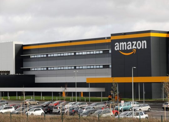 Amazon Logo Depot Centre Distribution