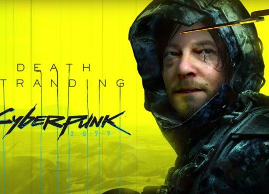 Death Stranding Cyberpunk 2077
