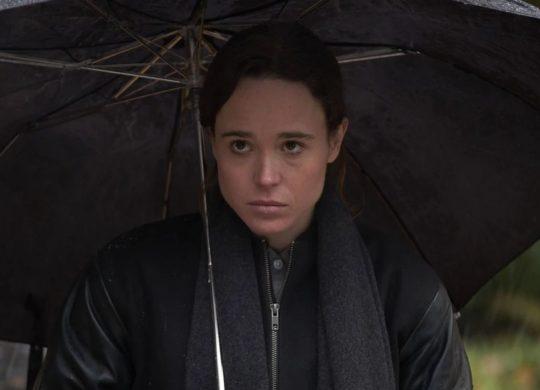 Elliot Page Umbrella Academy