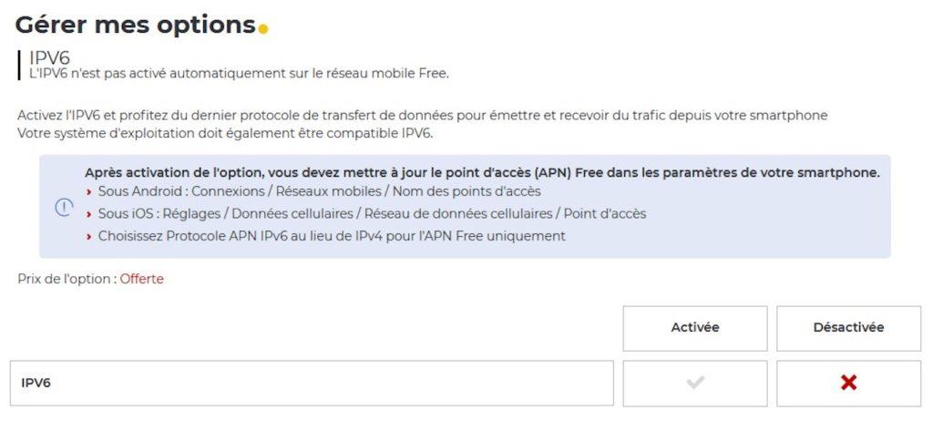 Free Mobile IPv6