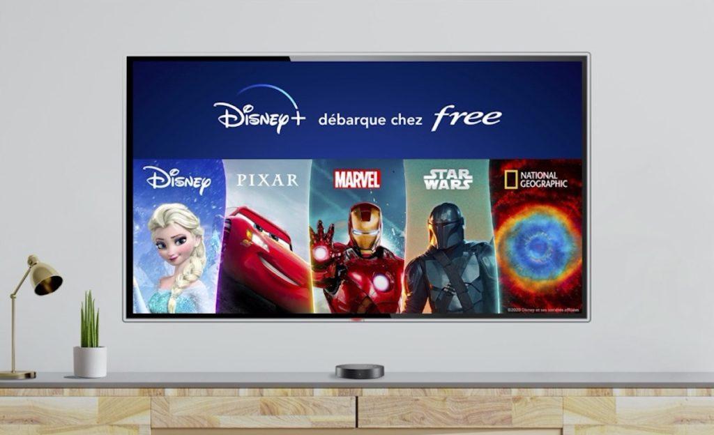 Disney+ arrive sur les Freebox avec 6 mois offerts