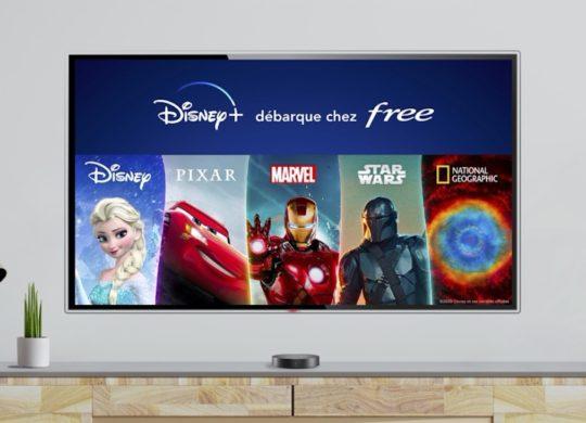 Freebox Disney Plus