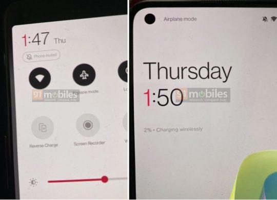 Fuite OnePlus 9