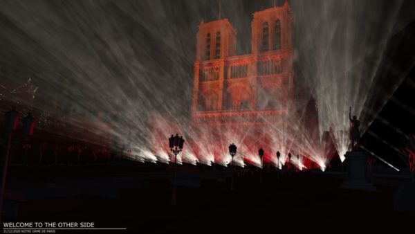 JMJ concert virtuel Notre Dame 1