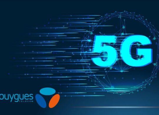 La 5G de Bouygues Telecom