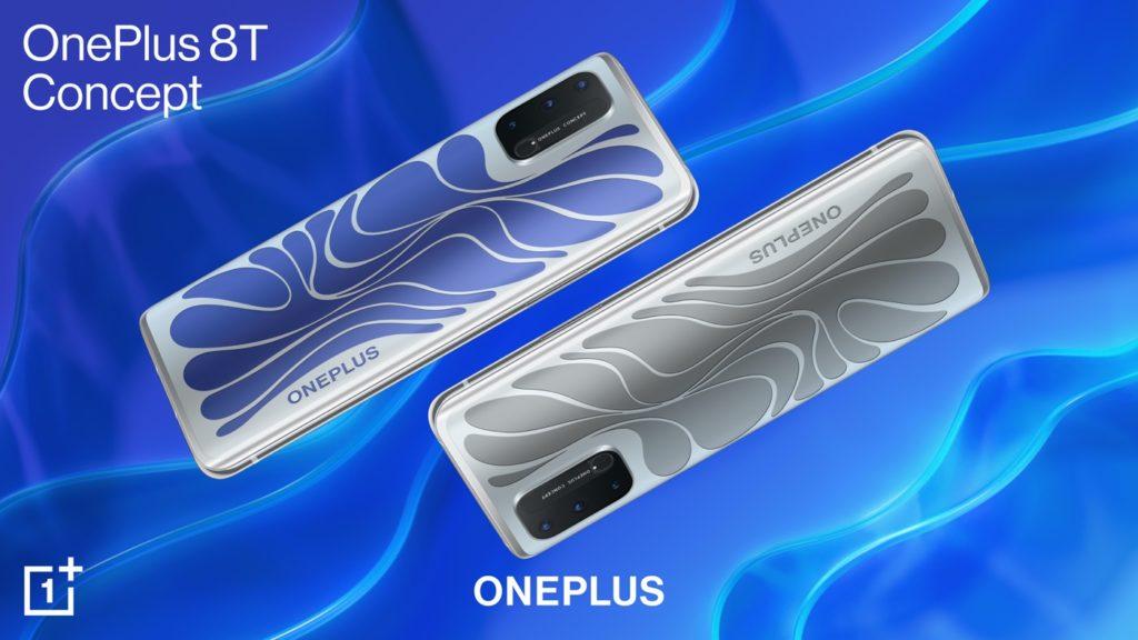 OnePlus 8T Concept Changement Couleur