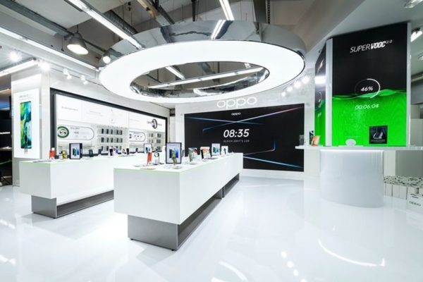 Oppo Pop Up Store