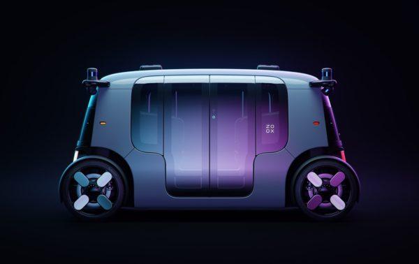 Zoox Fully Autonomous Vehicle
