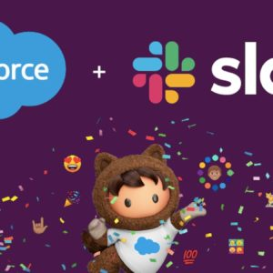 Image article Salesforce rachète Slack pour 27,7 milliards de dollars