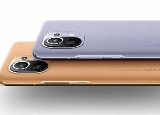 Xiaomi Mi 11 Arriere Coloris