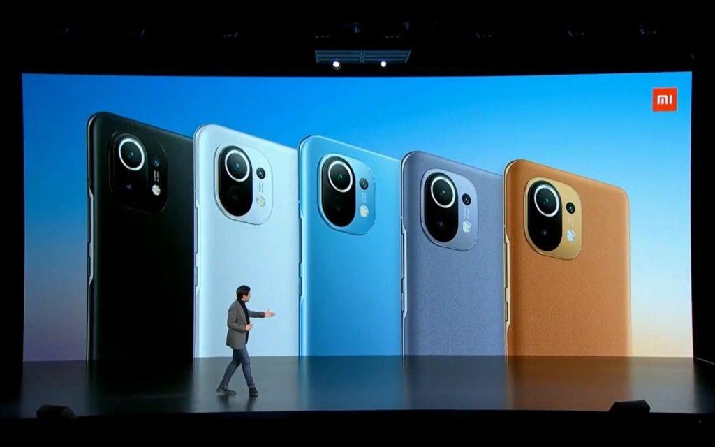 Xiaomi Mi 11 Coloris Arriere