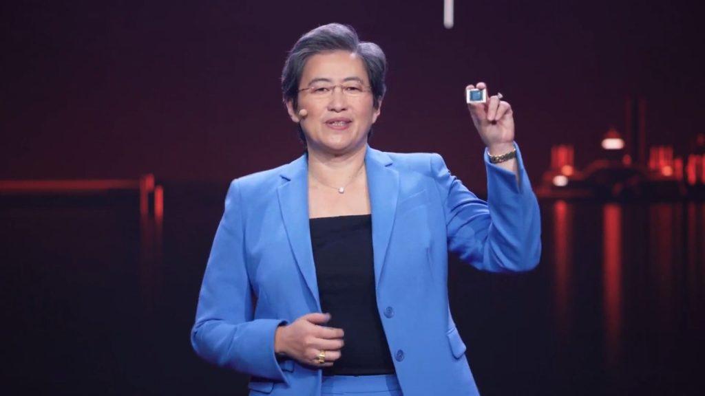 AMD Ryzen 5000 Mobile Lisa Su
