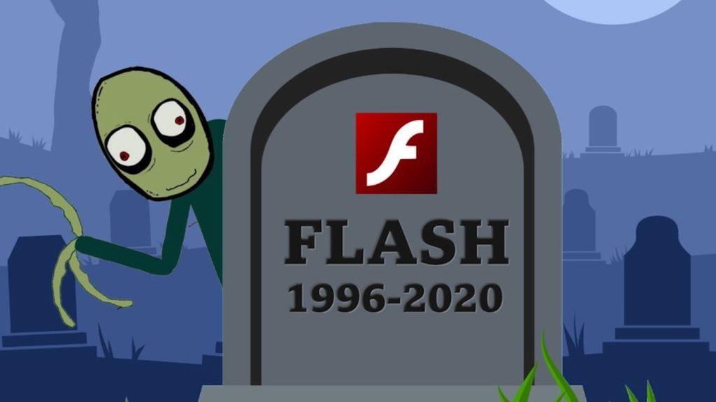 Adobe Flash Player Mort