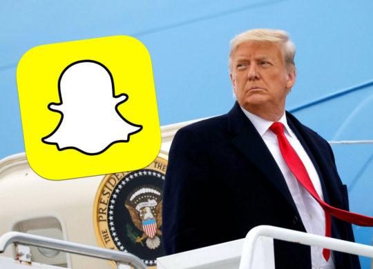 Donald Trump Snapchat