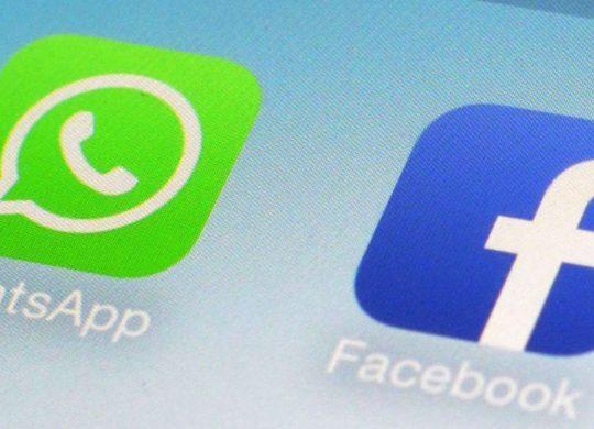 Facebook WhatsApp Logos Icones