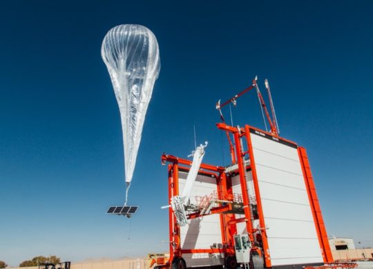 Google Projet Loon Ballon