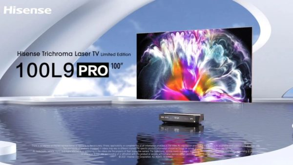 Hisense Laser TV 600x337