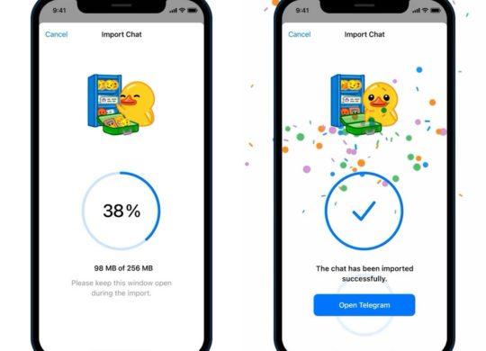 Importer Discussions WhatsApp Vers Telegram