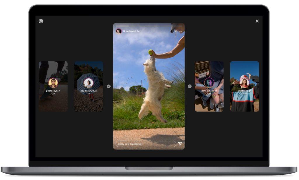 Instagram Nouvelle Interface Stories Ordinateur