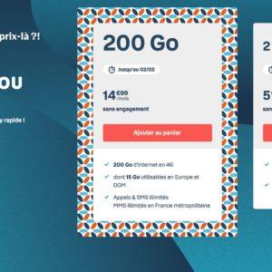 Image article [#BonPlan] Forfaits B&You 200 Go à 14,99€, Sosh 60/100 Go dès 13,99€
